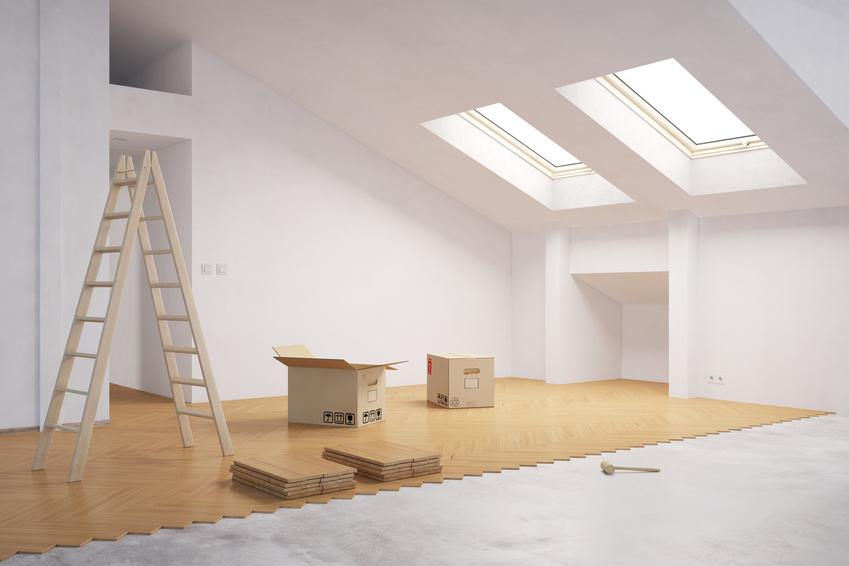 Welcher Fußboden Im Dachboden ~ Parkett verlegen beim ausbau vom dachboden bhg aachen